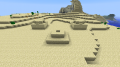 Храм засыпанный песком