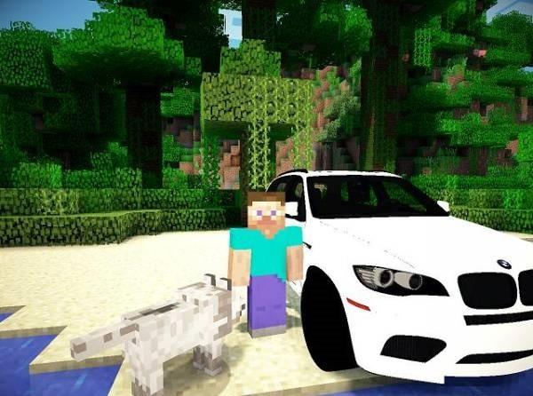 bmw в Minecraft