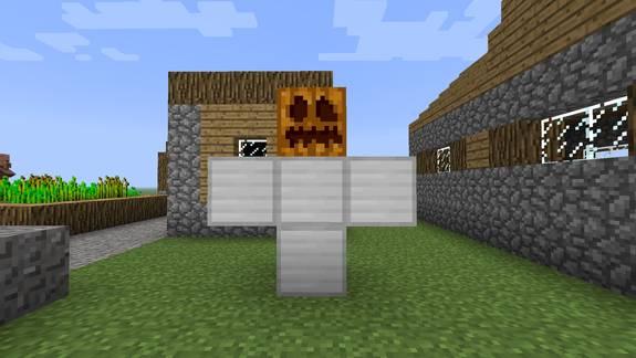 Как создать железного голема
