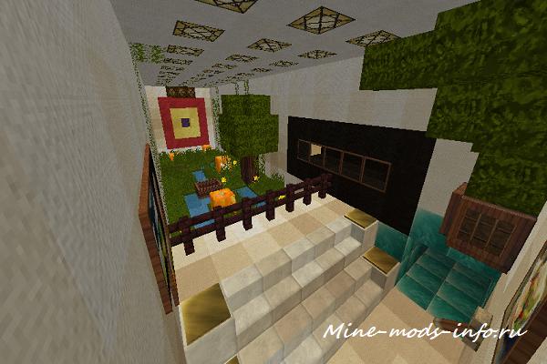 Механический дом в Minecraft (1.6.4) от Antony