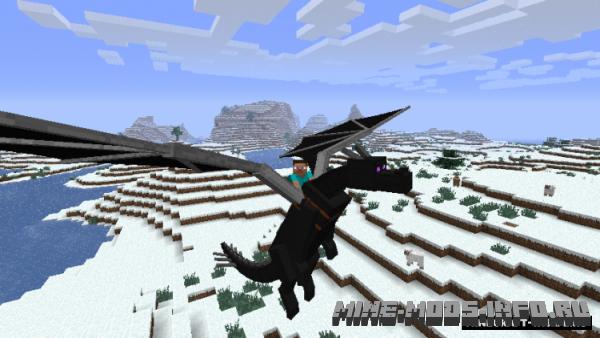 Скачать мод на майнкрафт 1 9 на драконов