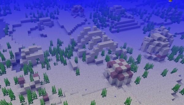 Подводные руины, Minecraft 1.13