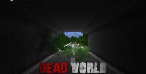 Карта Dead World - Зомби Апокалипсис в Minecraft!