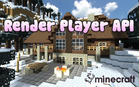 Мод Render Player Api для Minecraft 1.5, 1.6 - Скачать
