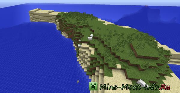 Ключ для генерации мира - Minecraft