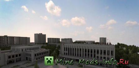 Карта припять для minecraft скачать для версии 1. 5. 2, 1. 6. 4, 1. 7.