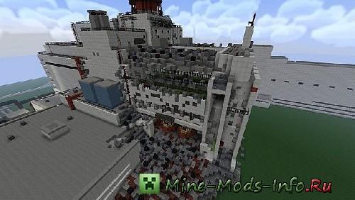 скачать карту для Minecraft припять - фото 7