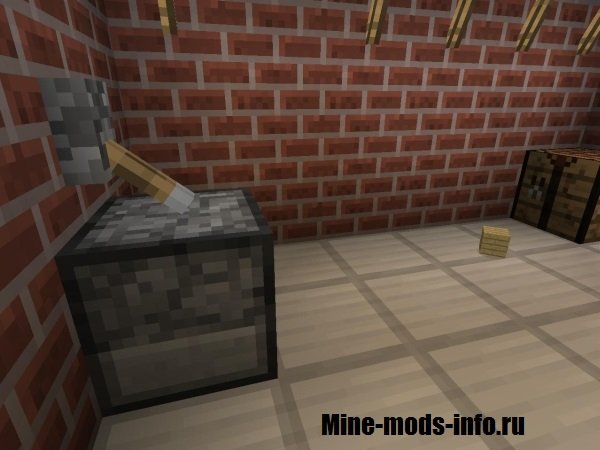 Раздатчик/диспансер в Minecraft